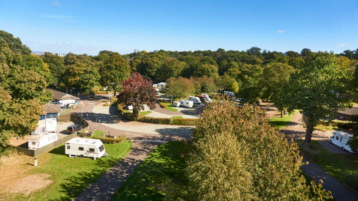 Abbey Wood Caravan and Motorhome Club Site
