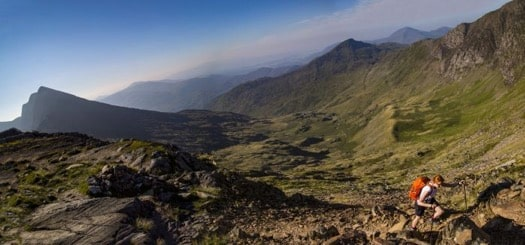 SNOWDON BY FOOT - NOT TRAIN! SNOWDONIA, WALES