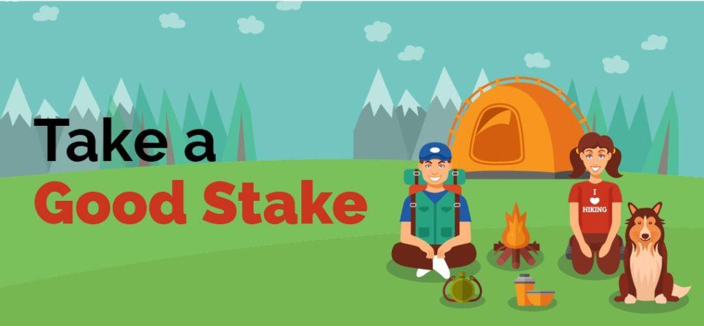 take a good stake