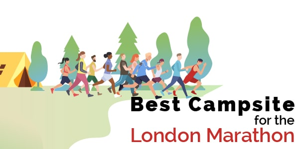 best campsites for the london marathon