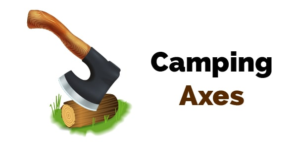 best camping axes header image