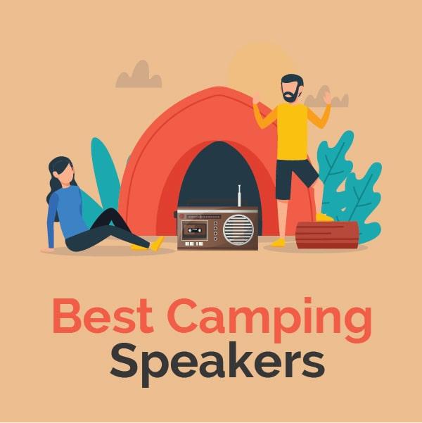 best camping speakers